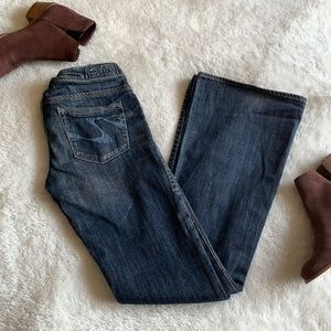 Silver Jeans Isabel Low Rise Flare